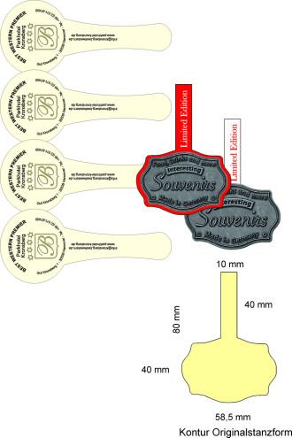 Werkzeugkosten ab € 60,00