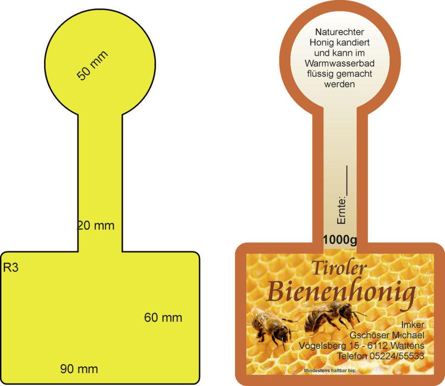 Fantastisch Honig Etiketten Vorlage Fotos - Beispiel Wiederaufnahme ...